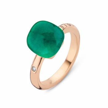 BIGLI Ring Mini Sweety Emerald Green