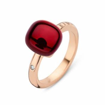 BIGLI Ring Mini Sweety Garnet Love