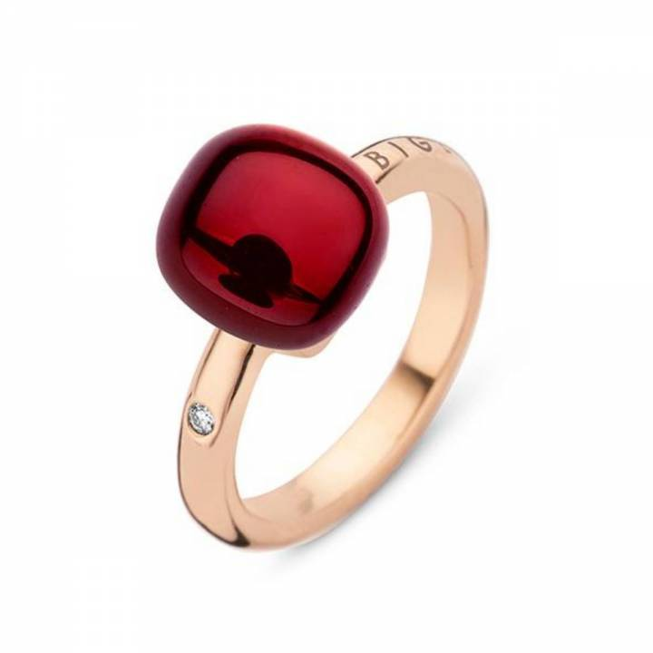 BIGLI Ring Mini Sweety Garnet Love
