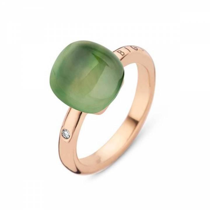 BIGLI Ring Mini Sweety Green Aventurine For Ever