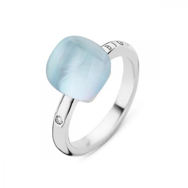 BIGLI Ring Mini Sweety Rock Crystal Blues