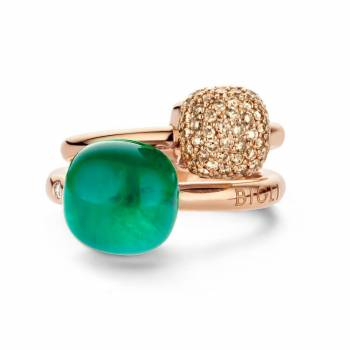 BIGLI Ringe Mini Sweety Brillant Emerald
