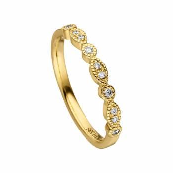 Brillant Ring 0,10ct Gelbgold