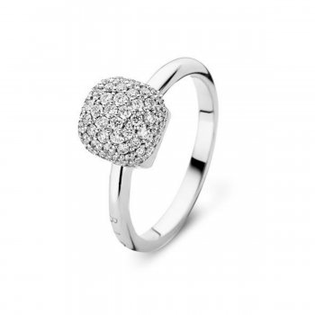 Brillant Ring BIGLI Pavé Weißgold