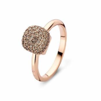 Brillant Ring BIGLI Pavé klein Roségold