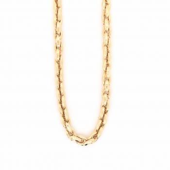 Collier 45 cm Gelbgold