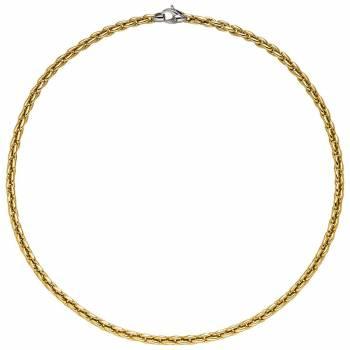 Collier 45cm Gelbgold