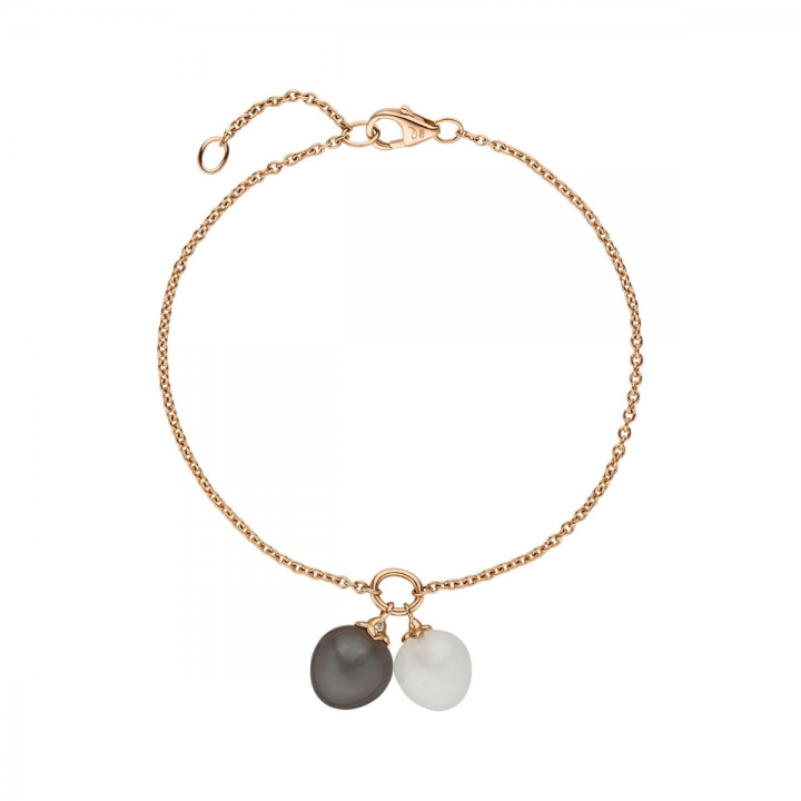 Mondstein Armband 6,82ct Roségold