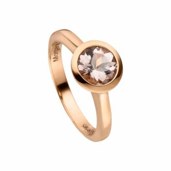 Morganit Ring 1,23ct Rotgold
