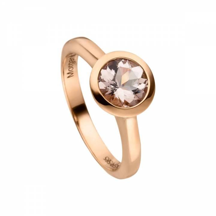 Morganit Ring 1,23ct Rotgold