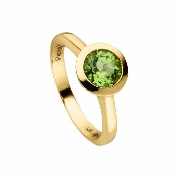 Peridot Ring 1,50ct Gelbgold