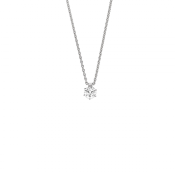 Brillant Collier 0,50ct Platin