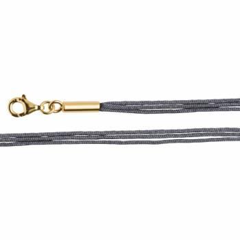 Bastian Baumwollband 3fach grau 27930