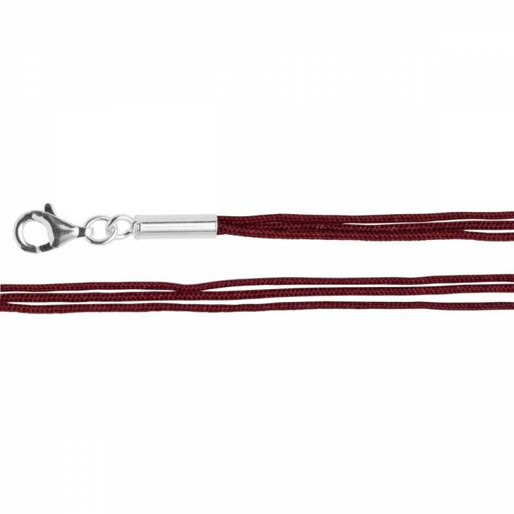 Bastian Baumwollband 3fach rot 27770