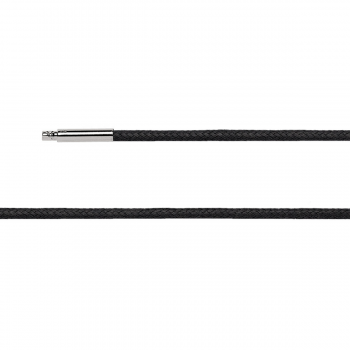 Bastian Baumwollband schwarz mit Bajonettverschluss 26810