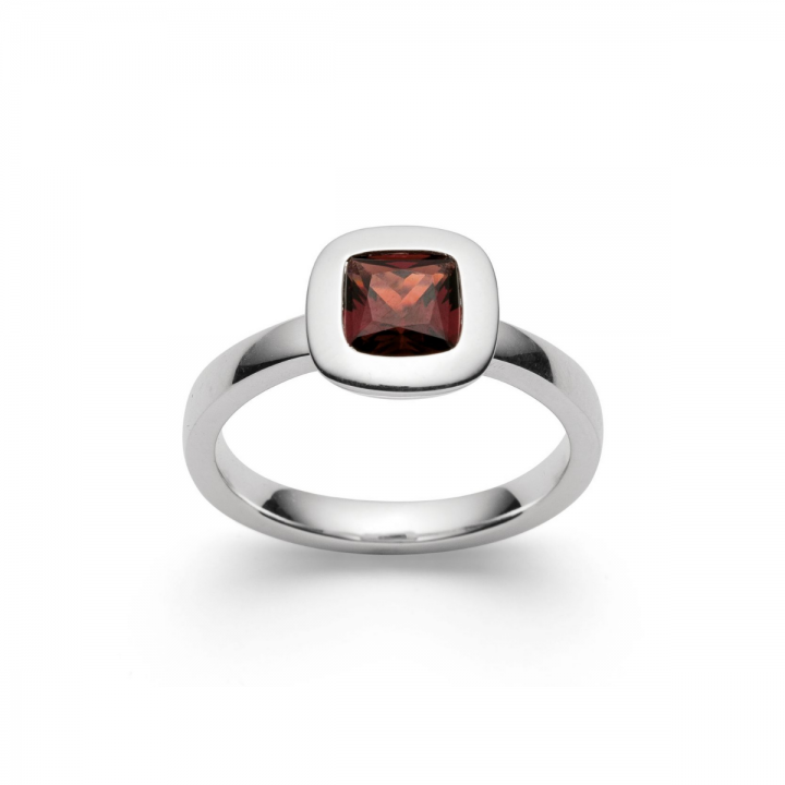 Bastian Ring Silber mit Granat 27740