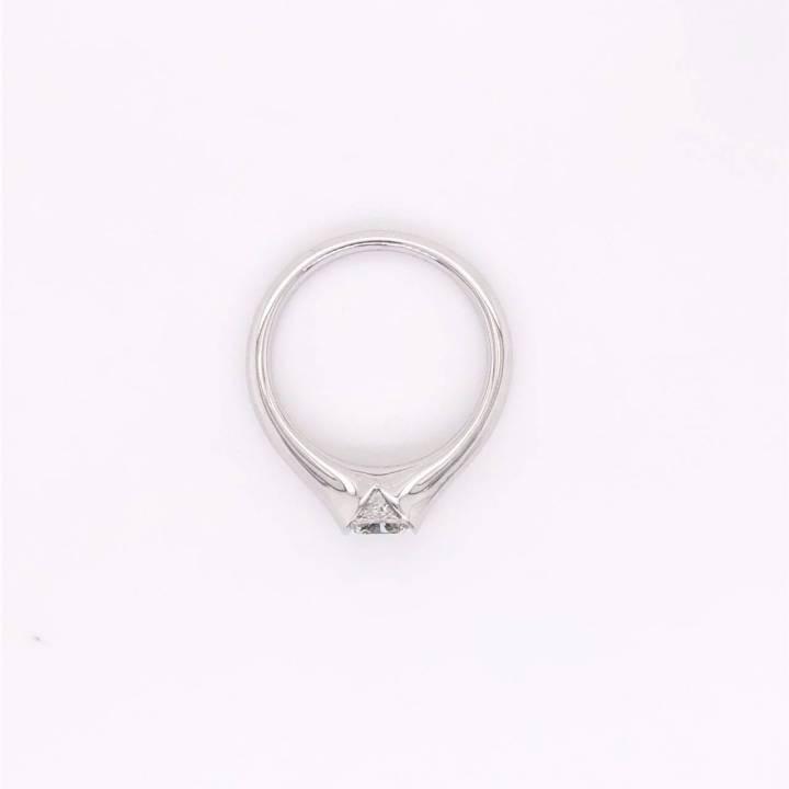 Diamant Ring 1,01ct Cushion Cut