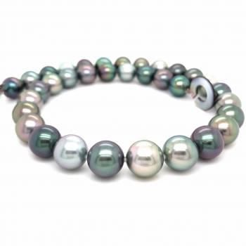 Marutea multicolor Perlenkette 12-13