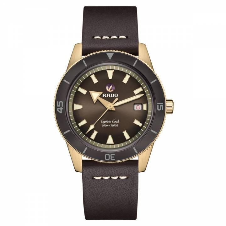Rado Captain Cook Automatic Bronze braun R32504306