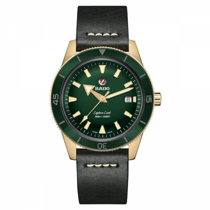 Rado Captain Cook Automatic Bronze grün R32504315