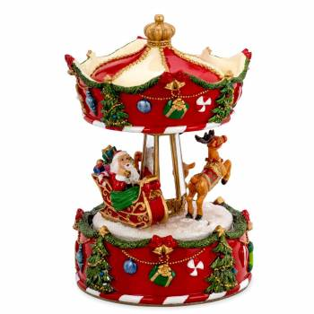 Spieluhr Karussel Weihnachtsmann