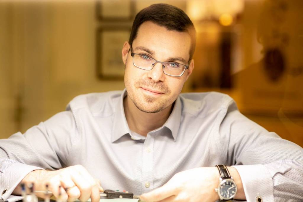 Uhrmachermeister Klemens Hollnack