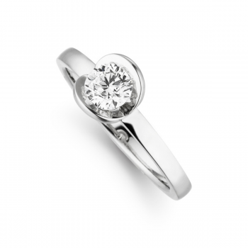 Brillant Ring Nova 0,50ct Platin