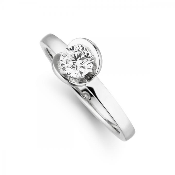 Brillant Ring Nova 0,50ct Platin