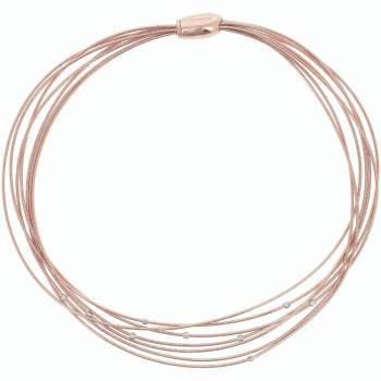 Pesavento Collier DNA Spring rosévergoldet (WDNAG372)
