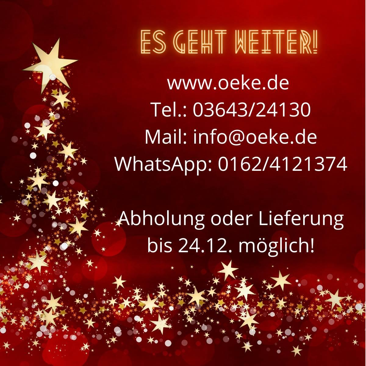 OEKE Infodienst - Weihnachten 2020
