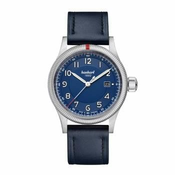 Hanhart Pioneer One Blue (762.270-7310) Herrenuhr
