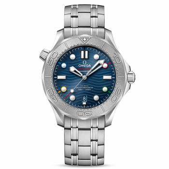 Omega Seamaster Diver 300M Co-Axial Master Chronometer 42 mm Peking 2022 (522.30.42.20.03.001) Herrenuhr
