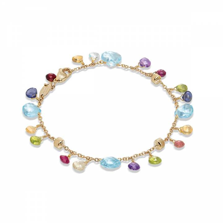 MARCO BICEGO Armband Paradise 18kt Gelbgold mit multicolor Edelsteinen (BB2584 MIX01T)