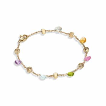 MARCO BICEGO Armband Paradise 18kt Gelbgold mit multicolor Edelsteinen (BB765 MIX01)