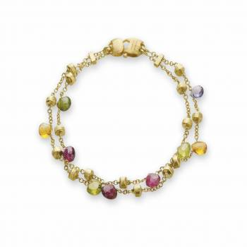MARCO BICEGO Armband Paradise 18kt Gelbgold mit multicolor Edelsteinen (BB887 MIX01)