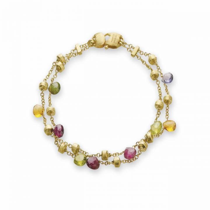 MARCO BICEGO Armband Paradise 18kt Gelbgold mit multicolor Edelsteinen (BB887 MIX01)