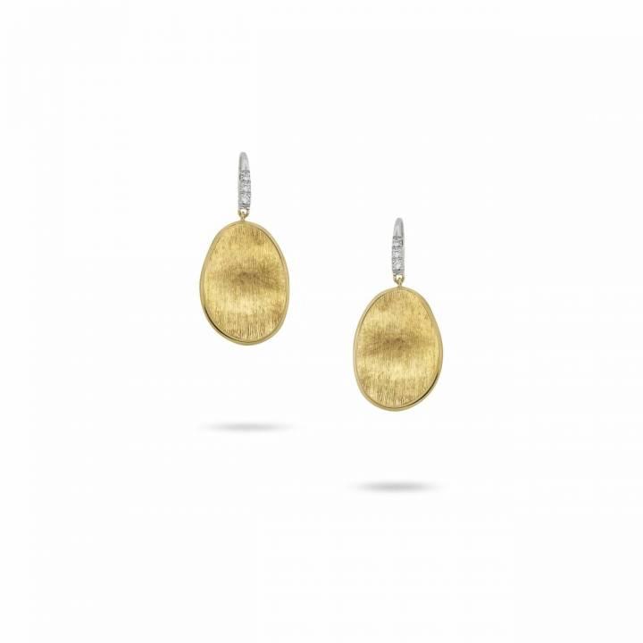 MARCO BICEGO Ohrhänger Lunaria 18kt Gelbgold mit Brillanten (OB1342-A B)