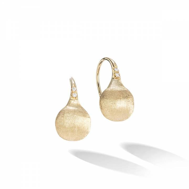 MARCO BICEGO Ohrhänger Africa 18kt Gelbgold mit Brillanten (OB1633-A B)