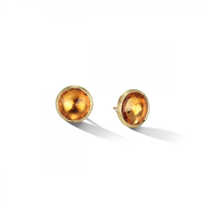 MARCO BICEGO Ohrstecker Jaipur 18kt Gelbgold mit Citrin (OB1739 QG01)