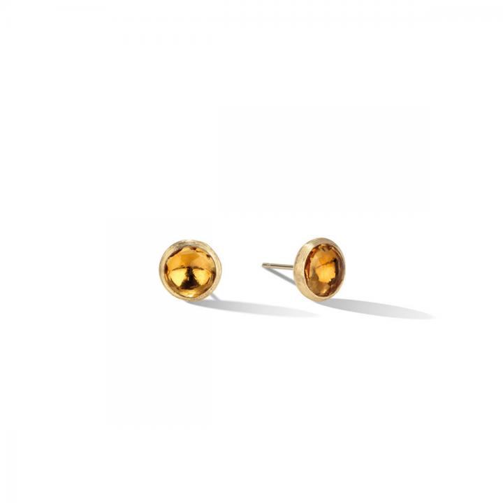 MARCO BICEGO Ohrstecker Jaipur 18kt Gelbgold mit Citrin (OB957 QG01)