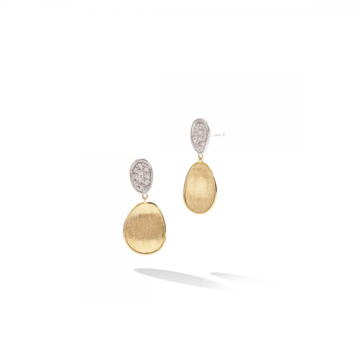 MARCO BICEGO Ohrstecker Lunaria 18kt Gelbgold mit Brillanten (OB1751 B)-1