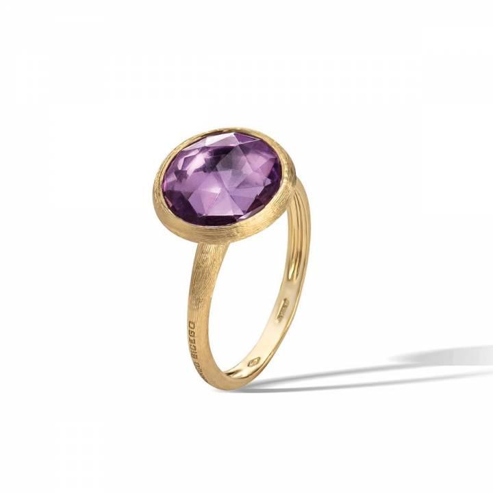 MARCO BICEGO Ring Jaipur 18kt Gelbgold mit Amethyst (AB586 AT01)