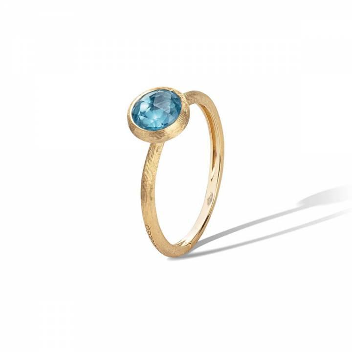 MARCO BICEGO Ring Jaipur 18kt Gelbgold mit Blautopas (AB471 TP01)