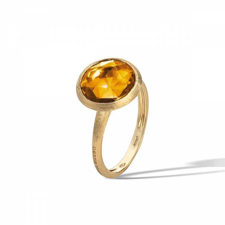 MARCO BICEGO Ring Jaipur 18kt Gelbgold mit Citrin (AB586 QG01)
