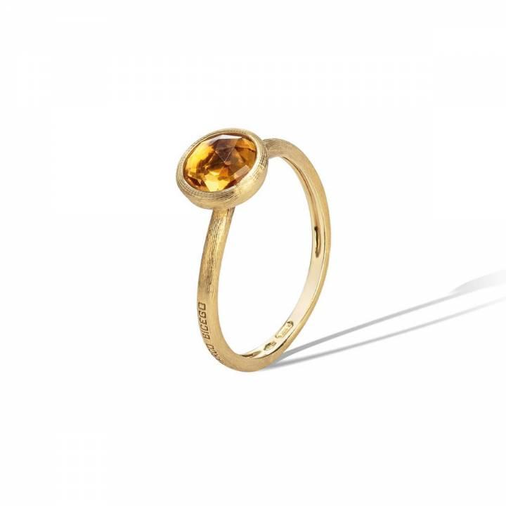 MARCO BICEGO Ring Jaipur 18kt Gelbgold mit Citrin (AB471 QG01)