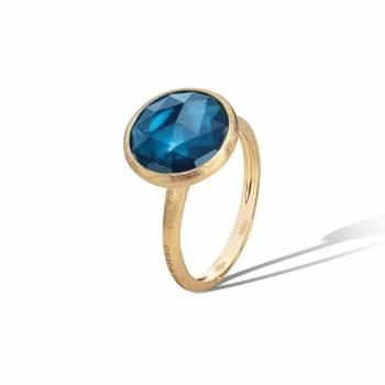 MARCO BICEGO Ring Jaipur 18kt Gelbgold mit LondonBlue Topas (AB586 TPL01)