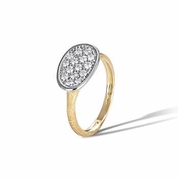 MARCO BICEGO Ring Lunaria 18kt Gelbgold mit Brillanten (AB581 B)