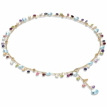 MARCO BICEGO Y-Collier Paradise 18kt Gelbgold mit multicolor Edelsteinen (CB2586-B MIX01)