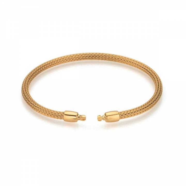 Armband für Perlschließen mit Zug Gelbgold