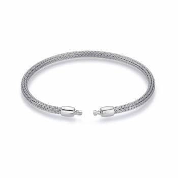 Armband für Perlschließen mit Zug Weißgold